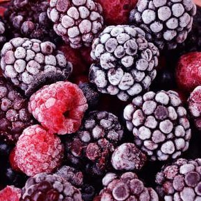 Frozen mixed berries