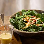 Kale, Carrot & Apple Salad